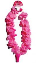 Pink Flower Light-Up Pecker Necklace Bride 2 B Hens Night Party Dress Up Girls