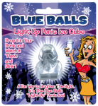Blue Balls Ice Cube Gift Favour Bachelorette Party Hens Night Fun Light Up Penis