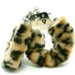 Furry Cuffs Handcuffs velvety-soft faux fur quick-release button