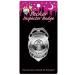 Pecker Inspector Badge Naughty Police Cops And Robbers Hen Party Fancy Dress