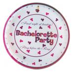 Bachelorette Party Supplies Wedding Bride Fling Before The Ring 7 in Plates