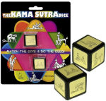 The Kama Sutra Dice Game Set of Two Love Sex Dice Erotic Risque Fun Adult