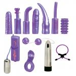 Good kit for a beginner to try a number of different sex toys at a budget price